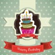 Birthday card — Stock Vector #11705434