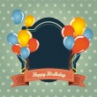 Birthday card — Stock Vector #11705574