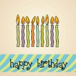 Birthday card — Stock Vector #11705669