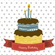 Birthday card — Stockvector  #11705840