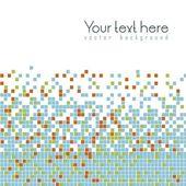 Mosaico de color — Vector de stock