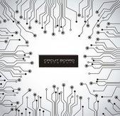 Placa de circuito — Vetorial Stock