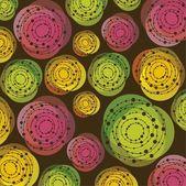 Barevné kruhy — Stock vektor