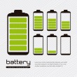 Battery load — Stock Vector #12085510