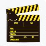 Film Slate illustration — Stock Vector #12085660