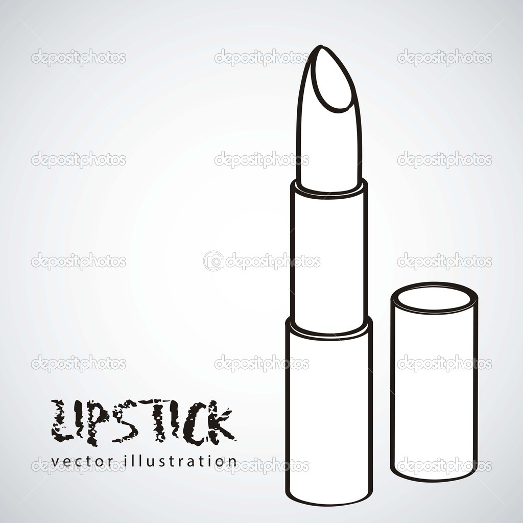 illustration of lipstick � stock vector 169 grgroupstock