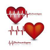 Hjärtat slår — Stockvektor