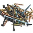Royalty-Free Stock Photo: Stack of different screws