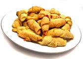 Tasty croissants — Stock Photo