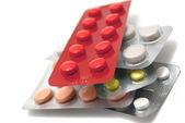 Stack of pills — Stock Photo