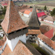 Stock Photo: Homorod Fortified church