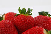 Many strawberries — Stock Photo