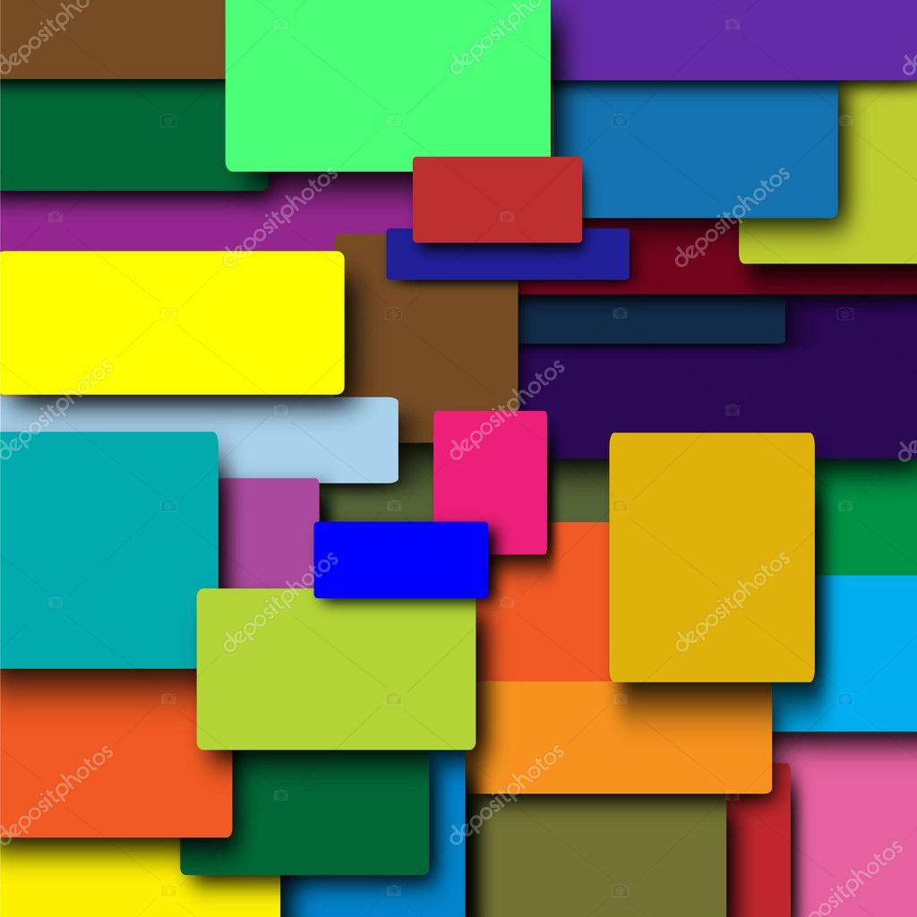 Lo sfondo di quadrati colorati foto stock andrymas777 for Piani domestici di 2000 piedi quadrati