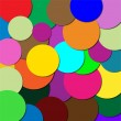 Circles of different colors - Grafika wektorowa