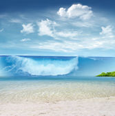 Tsunami — Stock Photo