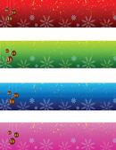 Christmas banner — Cтоковый вектор