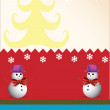 Merry Christmas and happy new year — 图库矢量图片 #12156259