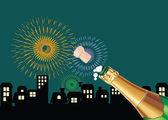 празднование — Cтоковый вектор