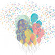 Party and decoration - Imagen vectorial