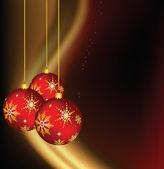 クリスマスの装飾 — ストックベクタ
