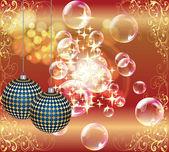 Veselé vánoce a šťastný nový rok — Stock vektor