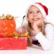 Girl with presents — Stock Photo #10934441