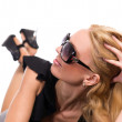 Woman in glasses — Stock Photo #10939320