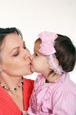 Woman and her daughter — Stock Photo