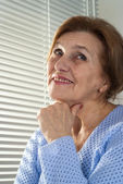 Beautiful Caucasian senior woman — Stock Photo