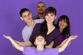 Mutlu bir aile 5 — Stok fotoğraf