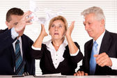 Fail work at the office — Stock Photo