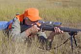 Big Game Rifle Hunter — Stock Photo
