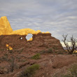 Turret Arch, arches Nationalpark — Stockfoto #11911167