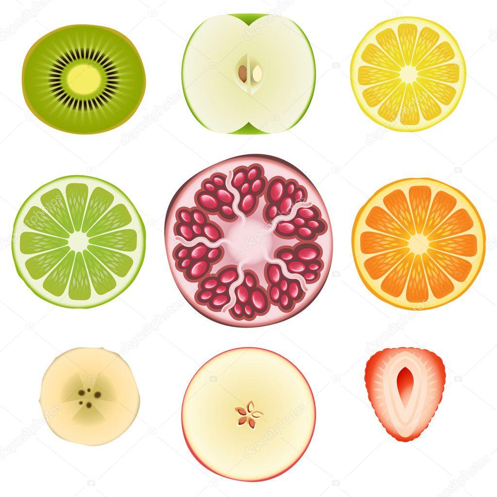 Fruit Slice Set ...V Is For Vegetables