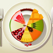 Healthy Diet - Stock Vector