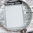 Stock Photo: Garage Sale