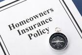 Hausbesitzer versicherung — Stockfoto