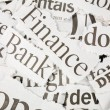 Newspaper Headlines - Stock Photo