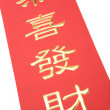 Chinese New Year Banner - Stock fotografie
