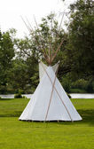 Indian tepee — Stockfoto