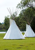 Indian tepee — Stock Photo