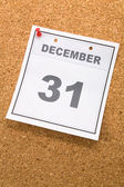 Last day of the year — Stock Photo