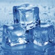 Ice cubes. — Foto de Stock