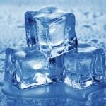 Ice cubes. — Stock Photo