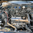 Stock Photo: Engine compartment