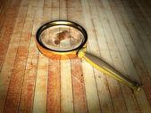虫眼鏡 — ストック写真