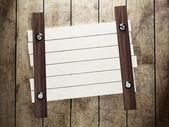 木板壁に釘付け — ストック写真