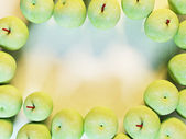 Many green apples — Photo