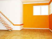 Stairs in the room — Stock Photo