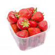 Royalty-Free Stock Photo: Strawberries in Plastic Box